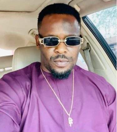 """Me wey my clothes no pass 10"" - Actor, Zubby Michael shows off his large Lagos mansion closet (video)"