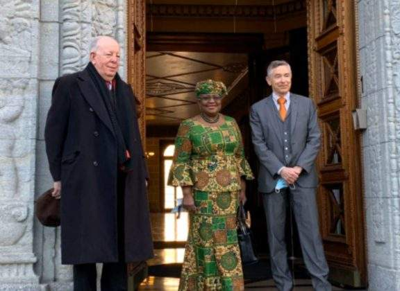 Ngozi Okonjo-Iweala makes first appearance at office as WTO Director-General
