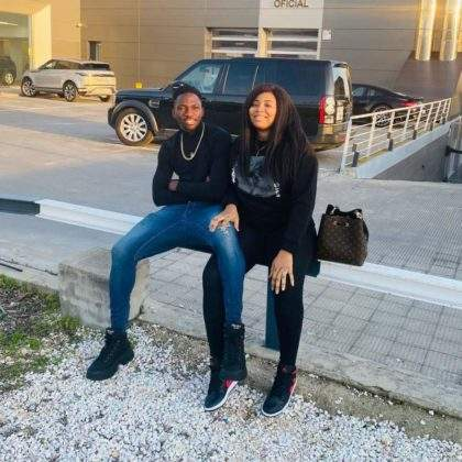 Footballer, Kenneth Omeruo gifts wife Range Rover as birthday gift (Video)