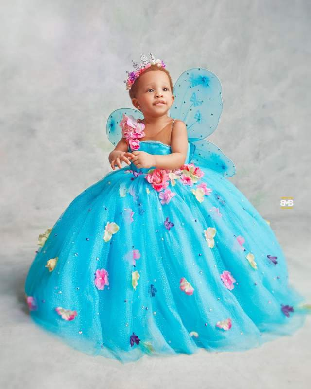 """""""Is she adopted?"""" - Reactions as fans compare Bambam, Teddy A's complexion with daughter"""