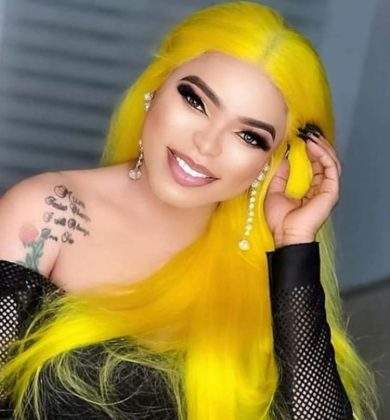 Bobrisky flaunts nails of N200K, threatens not to see it on anyone else (Photo)