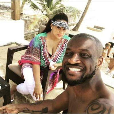 Peter Okoye reacts as Nigerians celebrate him for standing up for his wife just like Prince Harry