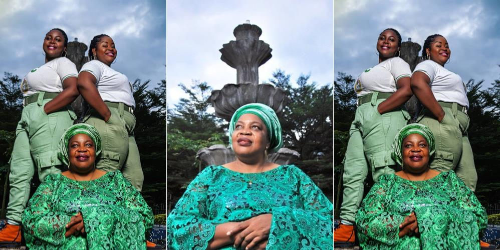 Twin Corpers Celebrate Mother's Birthday With Cool Photos