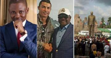 'You're very stupid' -Gov. Rochas tells Omojuwa for asking when Ronaldo and Sergio Ramos will get their statues