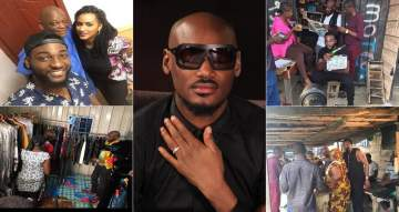 2face On Set With Susan Peters, Juliet Ibrahim, Gbenro Ajibade And Others (Photos)