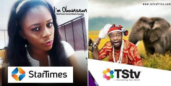 """""""We are a pay TV operator. We don't run a cyber cafe nor make empty promises."""" - Startimes shades TStv"""