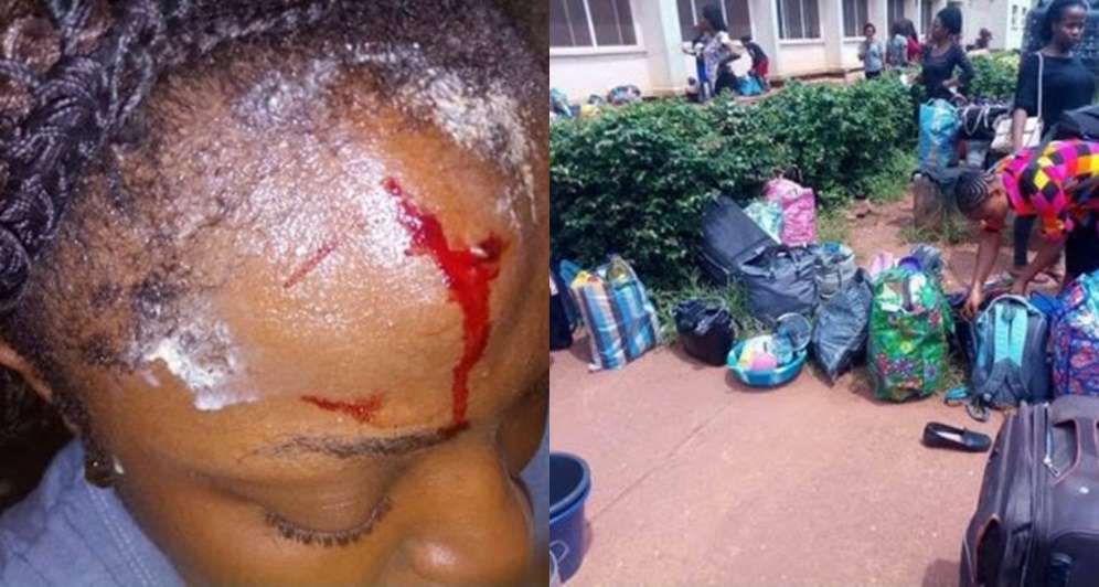 UNN Students Brutalized, Thrown Out Of Hostel In Enugu