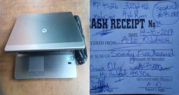 """""""See How I Was Duped By A """"Soldier"""" With N75,000 Fake Naira Notes"""" (Photos)"""