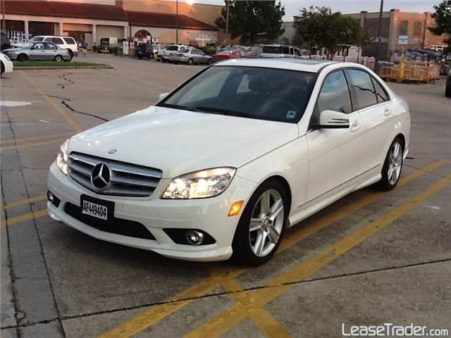 2010 Mercedes Benz C300 4MATIC Luxury White