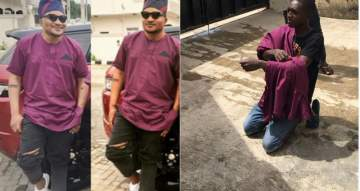Masterkraft 'apprehends' Tailor Behind His Widely Criticized Outfit to Banky W and Adesua's Wedding (Video)