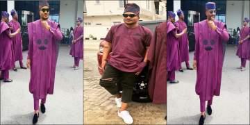 Lols! MasterKraft shares photo-shopped photo of himself in Ebuka Obi-Uchendu's famous Agbada