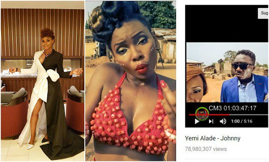 Yemi Alade has broken yet another record -check it out!!