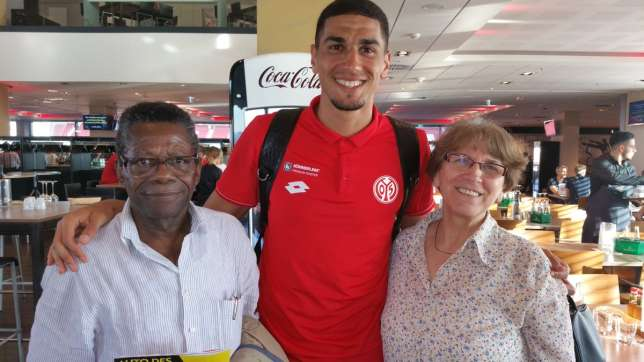 Leon Balogun And His Parents
