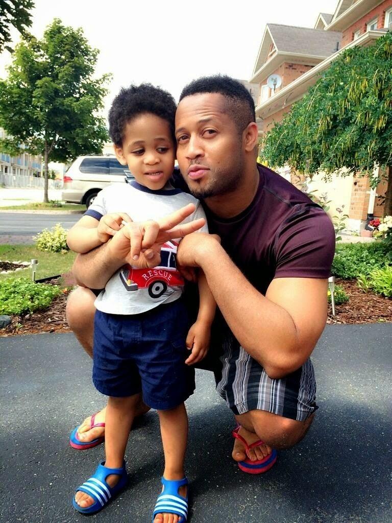 Mike Ezuruonye And Son 2