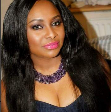 Actress, Victoria Inyama places curses on her ex-husband in Father's Day message