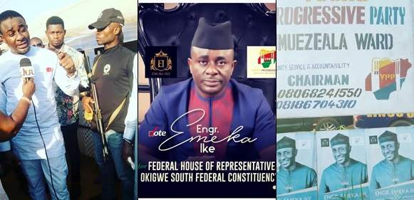 Emeka Ike Blast Several Followers Who Reacted To His Political Campaign Posts On Social Media