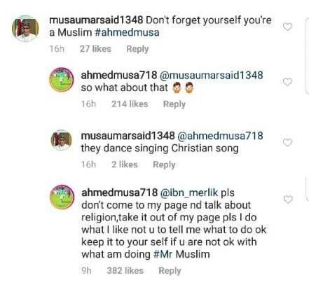Ahmed Musa Blast Instagram User Who Tried To Tutor Him Lailasnews 1
