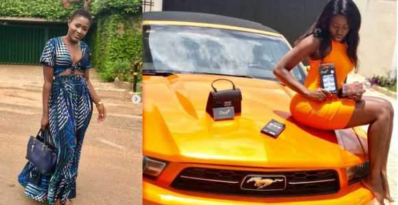 Fella Makafui Allegedly Had Three Abortions For Angry Sugar Daddy Who Seized Her Cars