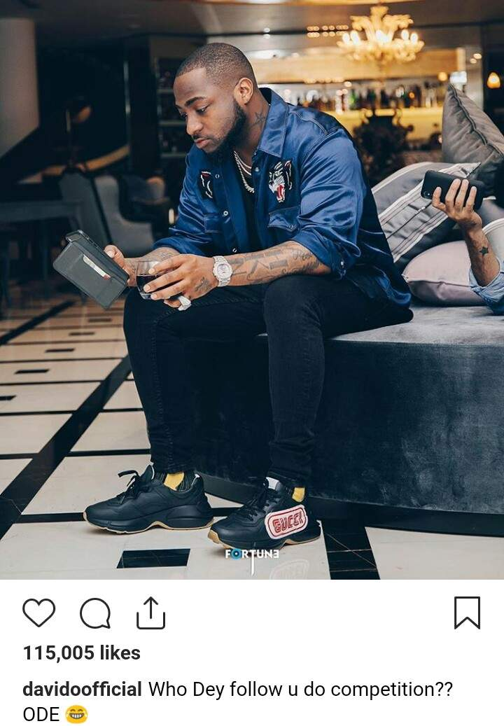 Davido Throws Shade Hours After Timaya Posted About Competition 2
