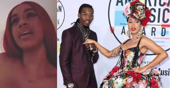 Cardi B Makes A Shocking Announcement Says She Has Split From Husband Offset Video
