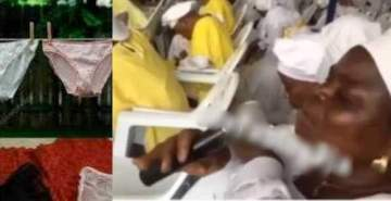Church offers special prayers for slaymamas' underwear (Video)