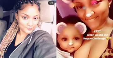 Gifty reveals she's married to her daughter's father as she shares her pregnancy story