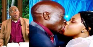 Kissing the bride in church during wedding is unholy - Anglican Bishop