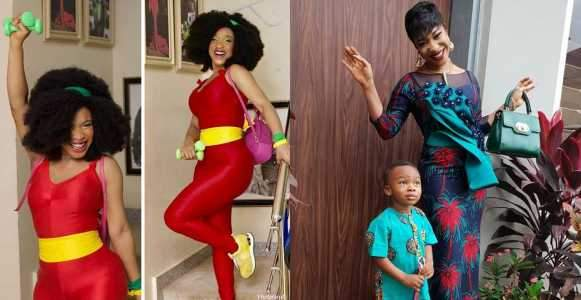 I Will Slap My Son Even At 18 If He Comes Home With Earrings %E2%80%93 Tonto Dikeh