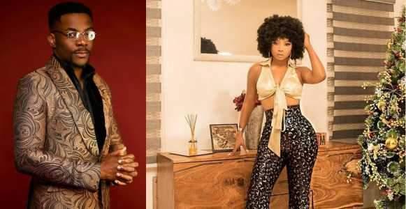 Media Personality Toke Makinwa Accused Of Flirting With Ebuka