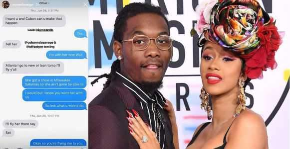 See The Leaked Chat That Caused Cardi B Offset%E2%80%99s Divorce