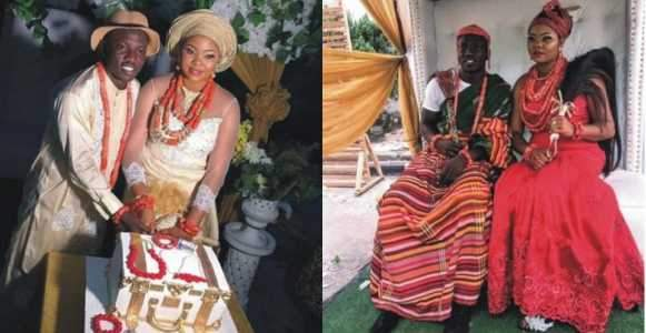 Super Eagles Midfielder Etebo Oghenekaro Weds The Mother Of His Child In Warri Photos
