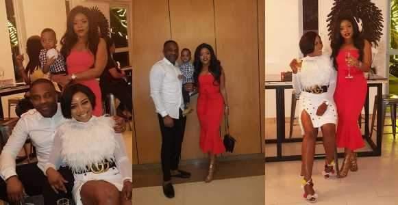 Photos From Laura Ikejis Husband Ogbonna Kanus Birthday Dinner