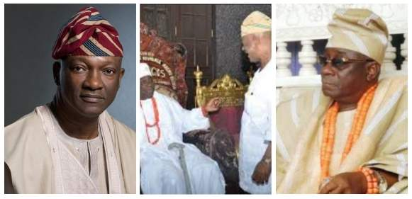 Nigerians react to Jimi Agbaje taking a shot at the Oba of Lagos and 'the royal utterance of 2015'
