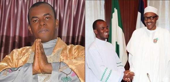 2019 Presidency Father Mbaka Attacks Buhari Atiku Predicts Winner Of Election Tile
