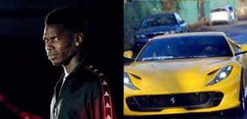 Paul Pogba buys brand new £250,000 Ferrari to celebrate child's birth (Photos)