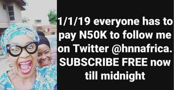 Everyone Will Pay N50000 To Follow Me On Twitter In 2019 %E2%80%93 Kemi Olunloyo