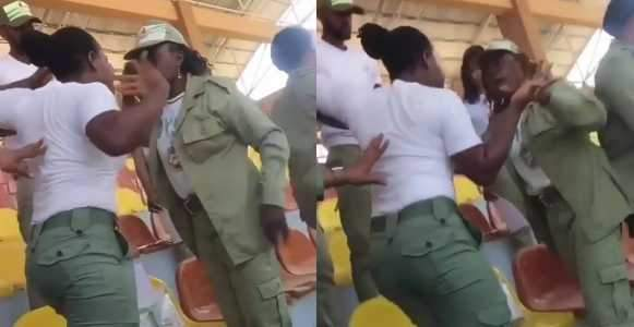 Fight Erupts As Batch A Corps Member Demands Respect From Batch C Corps Member Video