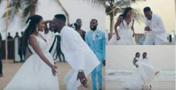 ITS OFFICIAL!!! Adekunle Gold releases long awaited wedding video with Simi Gold (Photos/Video)