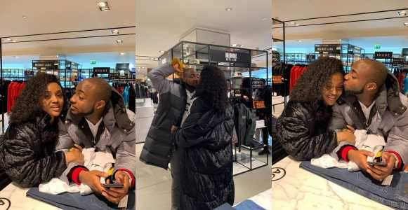 Love Of My Life Davido Tells Chioma As She Shares Their Loved Up Photos