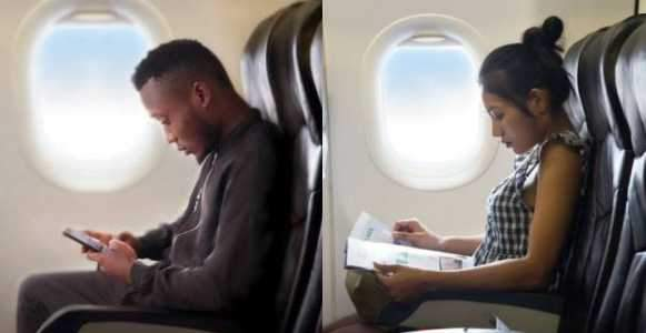 Nigerian Singer Busted After Posting Photoshopped Photo Of Himself In A Plane