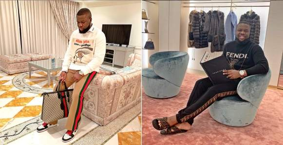 Hushpuppi Shades Ladies With Fake Bodies That Didn't Join The 10 Year Challenge
