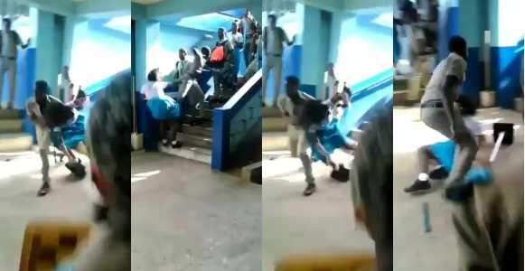 Viral Video Of Secondary School Students Fighting In School