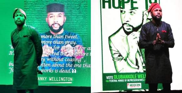 You Know Nothing About Politics %E2%80%93 Nigerians Blast Banky W