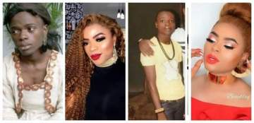 """""""Ten Years Back When I Was Suffering With No Mother To Care""""- Bobrisky writes on his success story"""