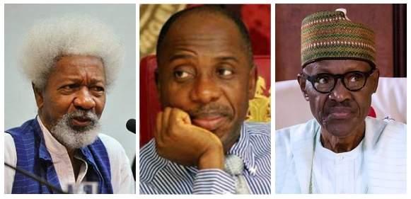 Wole Soyinka Reacts To Viral Video Of Amaechi Allegedly Criticizing President Buhari