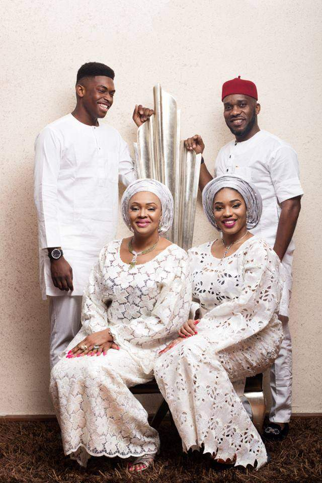 Jay Jay Okocha And Family