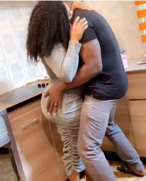 Video: Omo Butty Shares Clip of Romantic Scene in Forthcoming Movie ???