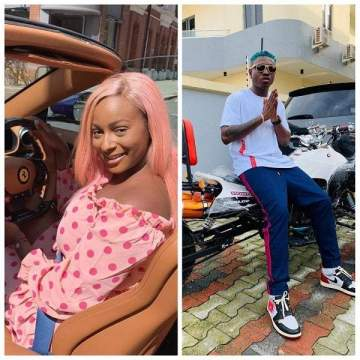 Zlatan Ibile Slaps DJ Cuppy's Butt While Dancing To Gelato (Video)