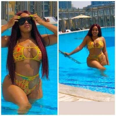 Actress Onyii Alex Flaunts Her Banging Body In Sexy Bikini