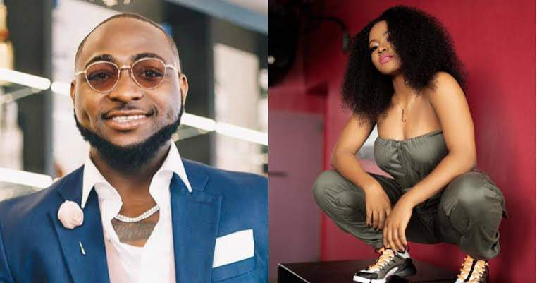 """See Bumbum"" - Fans React as Davido Shares Raunchy Photos Of His Female Signee, Liya (Photos)"